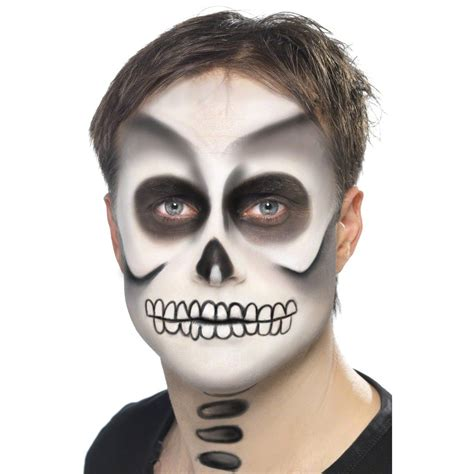 imagenes para pintar a un catrin skelett make up halloweenschminke skelettschminke makeup