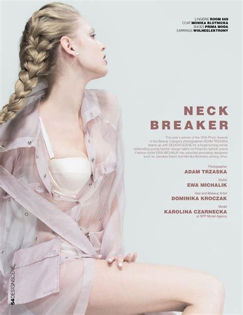 design magazine poland neck breaker ft polish designers in design scene magazine