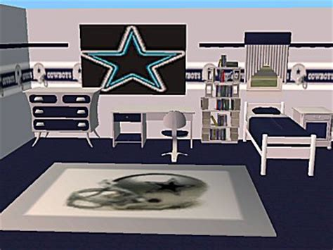 mod the sims 2 nfl bedroom sets