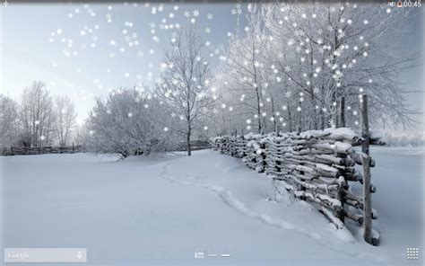 google winter wallpaper winter snow live wallpaper pro android apps on google play