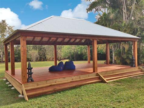 customised gazebos aarons outdoor living