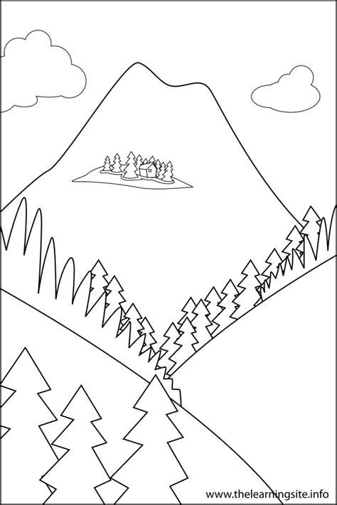 landform plateau coloring sheets coloring pages