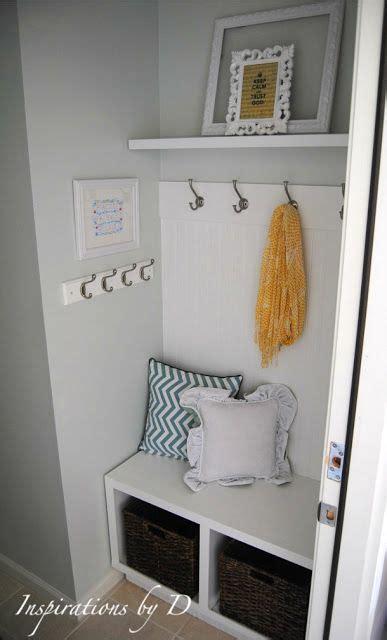mudroom ideas diy small mudroom idea for the home pinterest