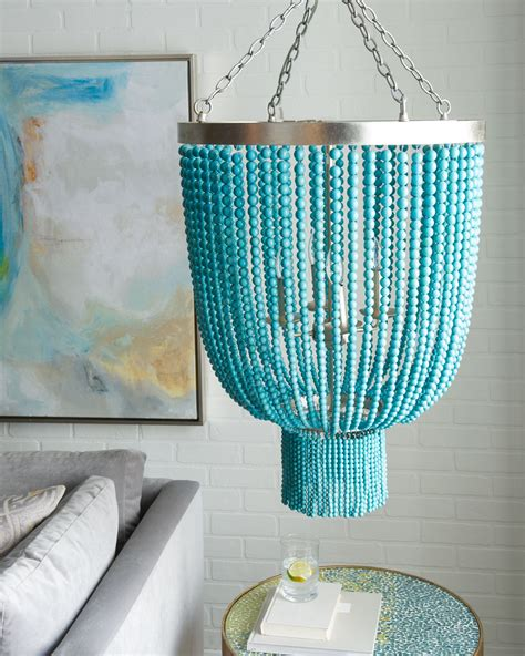 turquoise chandelier turquoise bead 4 light chandelier everything turquoise