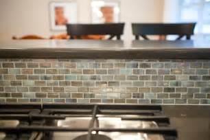 blue turquoise mosaic tile kitchen backsplash