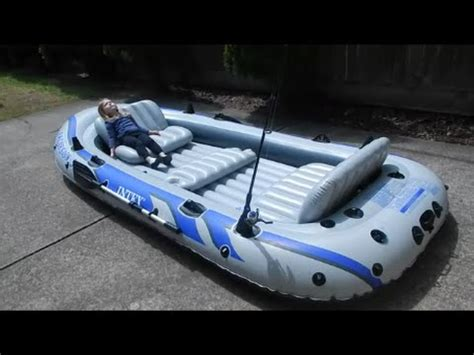 inflatable boat disadvantages intex excursion 5 inflatable boat review part 1 youtube