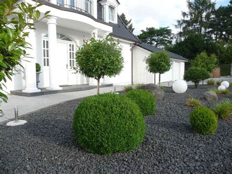moderner vorgarten bilder beispiele garten und landschaftsbau