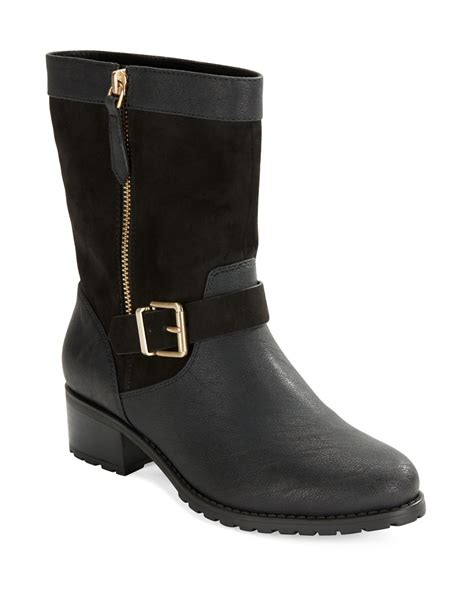 charles by charles david boots lyst charles by charles david janelle suede and leather