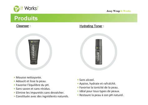 It Works cleanser et hydrating toner photo de gamme de la marque