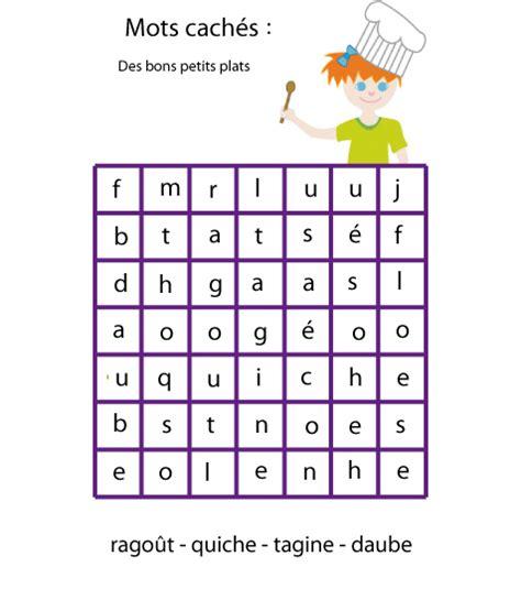 jeu mots cach 233 s les plats n 176 1 t 234 te 224 modeler
