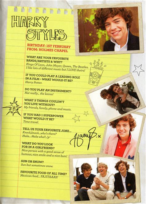 Cd One Direction Year Book Sold one direction images scans of the 1d limited edition yearbook up all wallpaper and