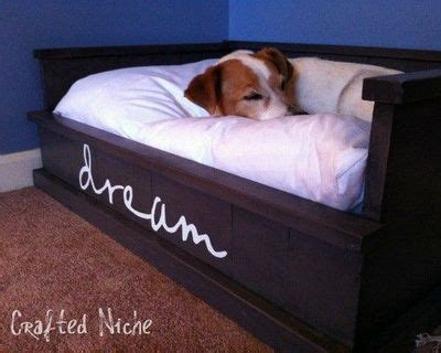 diy dog r for bed woodwork build dog bed pdf plans