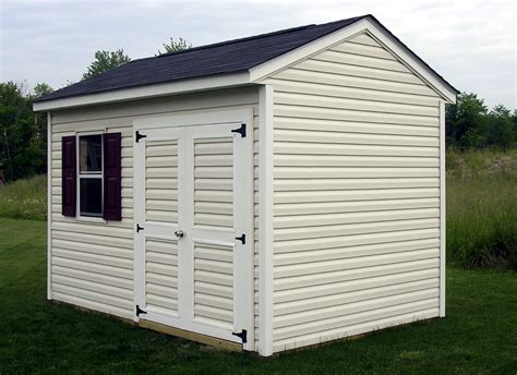 Low Shed by Affordable Low Maintenance Sheds
