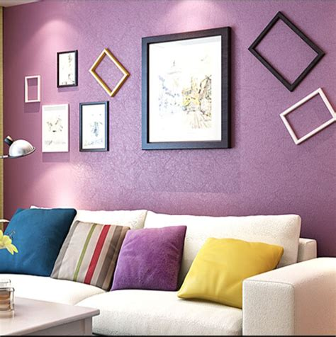 color choices for living room silk basic style solid color wrinkled aged 7 colors wallpaper for living room dgwp007