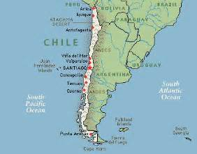 map of chile south america map of chile photos map pictures
