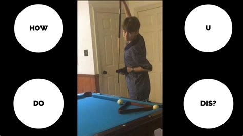 who invented pool table masse tutorial pool curve cue spin explained