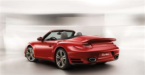 red porsche 2011 red porsche 911 turbo cabriolet wallpapers