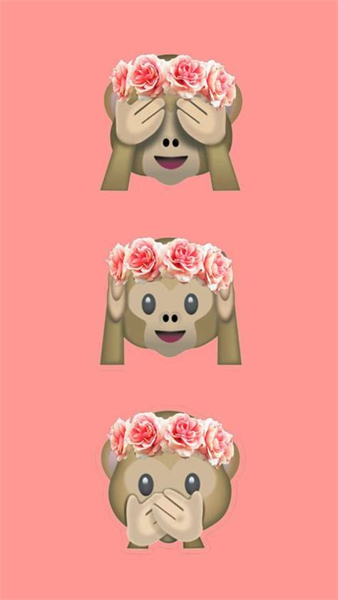 wallpaper emoji monkey monkey emoji wallpaper emojis pinterest arri 232 re