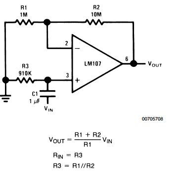 integrator without op lifiercircuits integrator