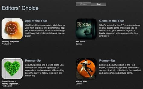 12 Of The Best Apps Made In Canada This Year Techvibes - apple publishes the app store best of 2012 iphone in