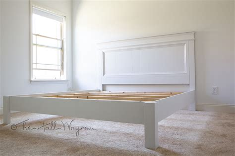 Free plans to build a fancy farmhouse bed in king size from ana white