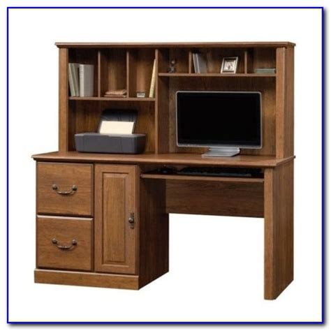 Sauder Graham Hill Computer Desk With Hutch Autumn Maple Sauder Graham Hill Computer Desk With Hutch In Autumn Maple Finish Desk Home Design Ideas