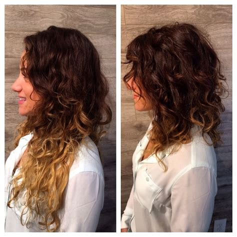 cut curly hair on long island saying goodbye to summer ends lob curly fallhair