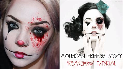 the story of makeup american horror story freak show makeup
