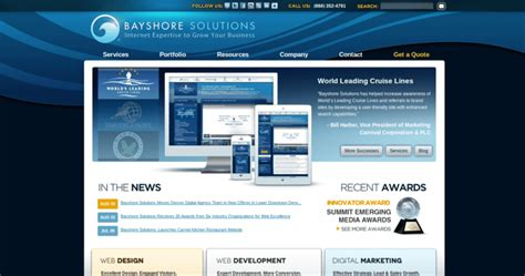 bayshore solutions top web developers 10 best design