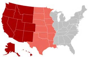 us map w states western united states familypedia