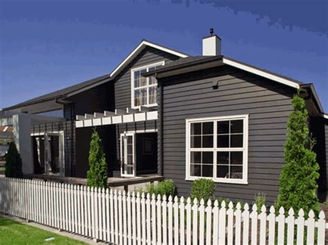 white weatherboard house white windows need architraves with black weatherboard