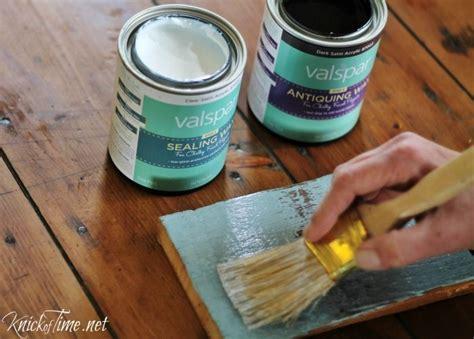 diy chalk paint sealer valspar chalky finish paint review via knickoftime net