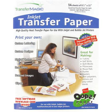 Craft Transfer Paper - ink jet transfer paper hobby lobby 721621