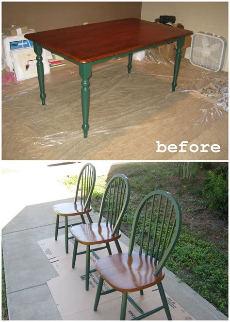 Diy Paint Dining Room Table Dwelling Telling Diy Dining Room Table