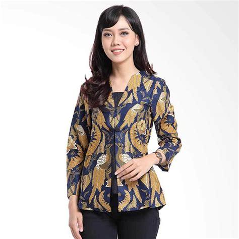 Blouse Wanita Lengan Panjang jual denbagoes batik varsha lengan panjang blouse wanita