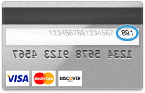 Where Is The Cvv Code On A Visa Gift Card - cvv security code location on back of visa mastercard and discover