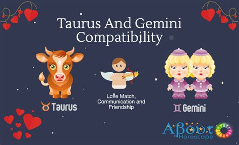 taurus and gemini compatibility love and friendship