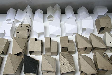 Sketch Model Architecture R House Architecture Research Office Archinect