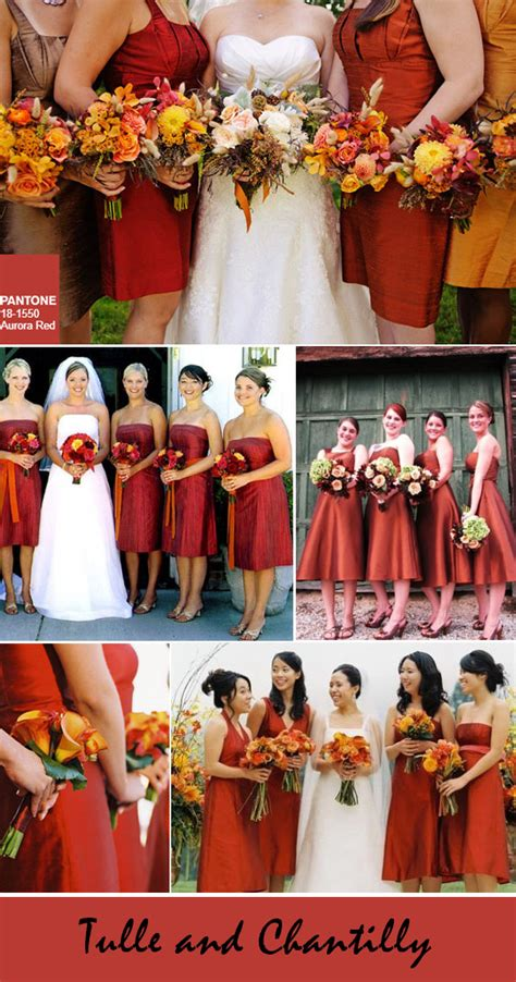 Wedding Attire Colours by Fall Bridesmaid Dresses Colors Www Imgkid The