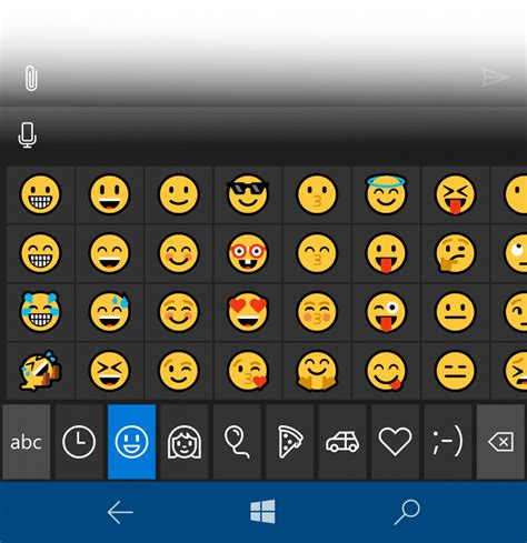 emoji for windows how to use new emojis in windows 10 mobile