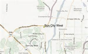 sun city arizona map sun city west weather station record historical weather