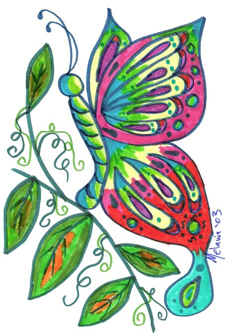 colorful tattoo designs butterfly tattoos and designs page 397