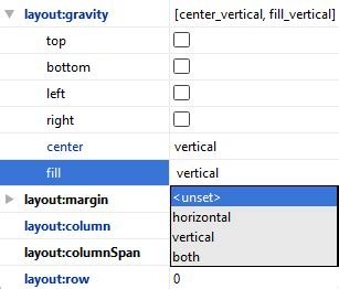 grid layout android studio using the android gridlayout manager in android studio