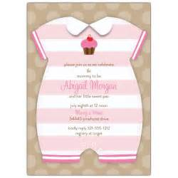 baby onesie shower invitations paperstyle