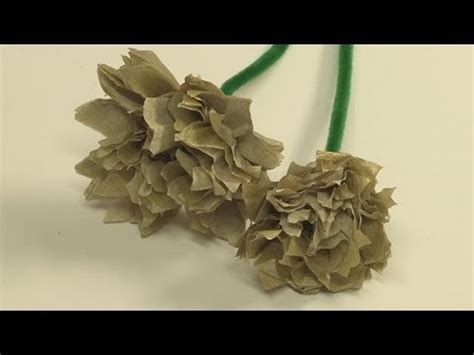How To Make Carnations Out Of Tissue Paper - how to make tissue paper carnations