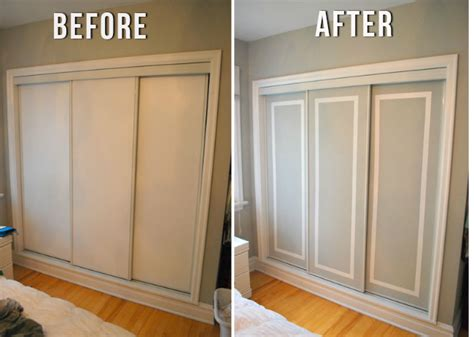How To Update Sliding Closet Doors Facelift Those Sliding Doors The Crafty Frugalista