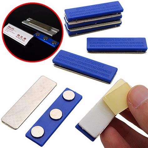 magnetic name tag badge fastener id holder magnet strong badge holder magnet alex nld