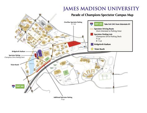 jmu map parade of chions maps and directions