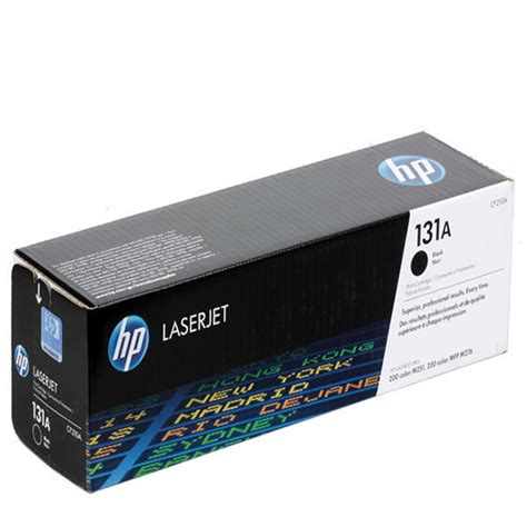 Hp 131a Black Cf210a Original Laserjet Toner Cartridge Hp 131a Original Black Toner Cartridge Cf210a