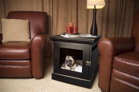 dog bed for crate 15 stylish pet beds that also serve as great looking tables